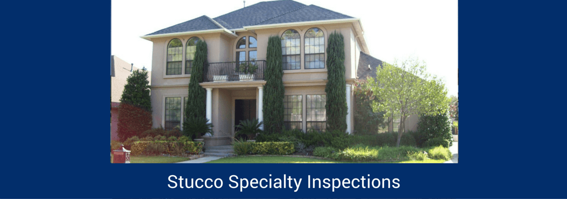Stucco / EIFS Inspections and Moisture Survey